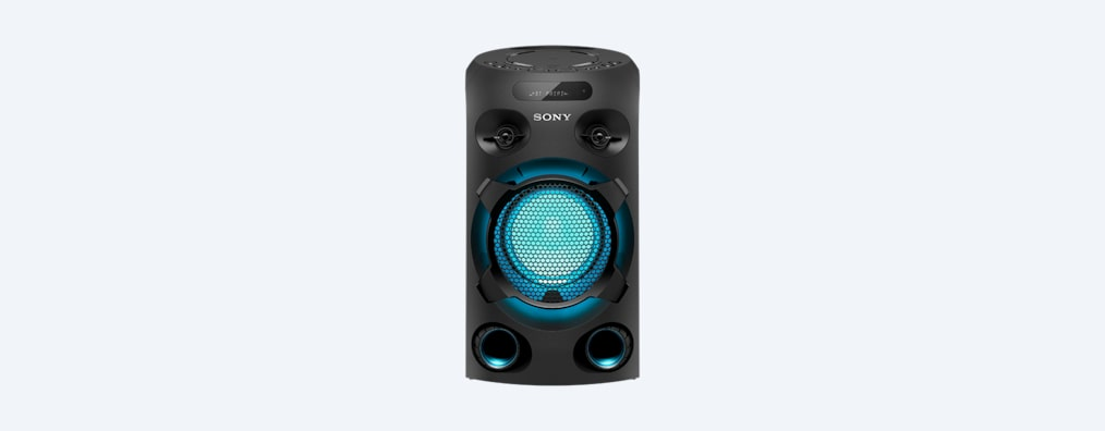 Images of V02 High-Power Party Speaker with BLUETOOTH® Technology