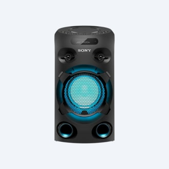 Picture of MHC-V02D High Power Party Speaker with BLUETOOTH® Technology