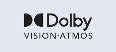 Dolby Vision® and Dolby Atmos® logo