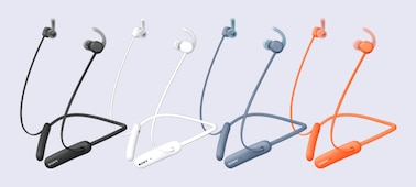 WI-SP510 headphones in a range of colours