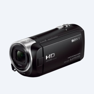 Picture of CX405 Handycam® with Exmor® R CMOS sensor