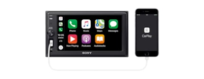 Images of 15.7 cm (6.2) Apple CarPlay Media Receiver with BLUETOOTH®