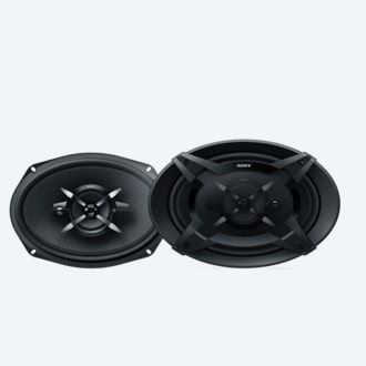 Picture of 16x24 cm (6x9) 3-Way Coaxial Speakers
