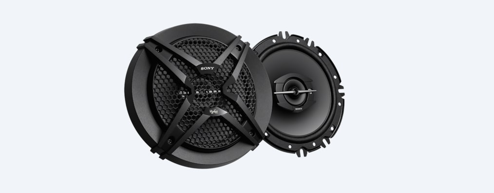 Images of 16-cm 3-way speakers