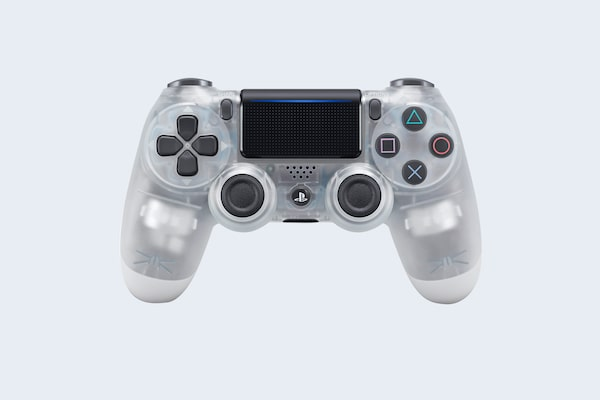 PS4 DUALSHOCK TRANSLUCENT CRYSTAL V2