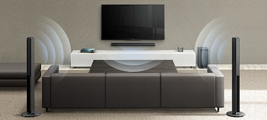 Picture of Stylish 5.1ch Tall Boy Home Theater System