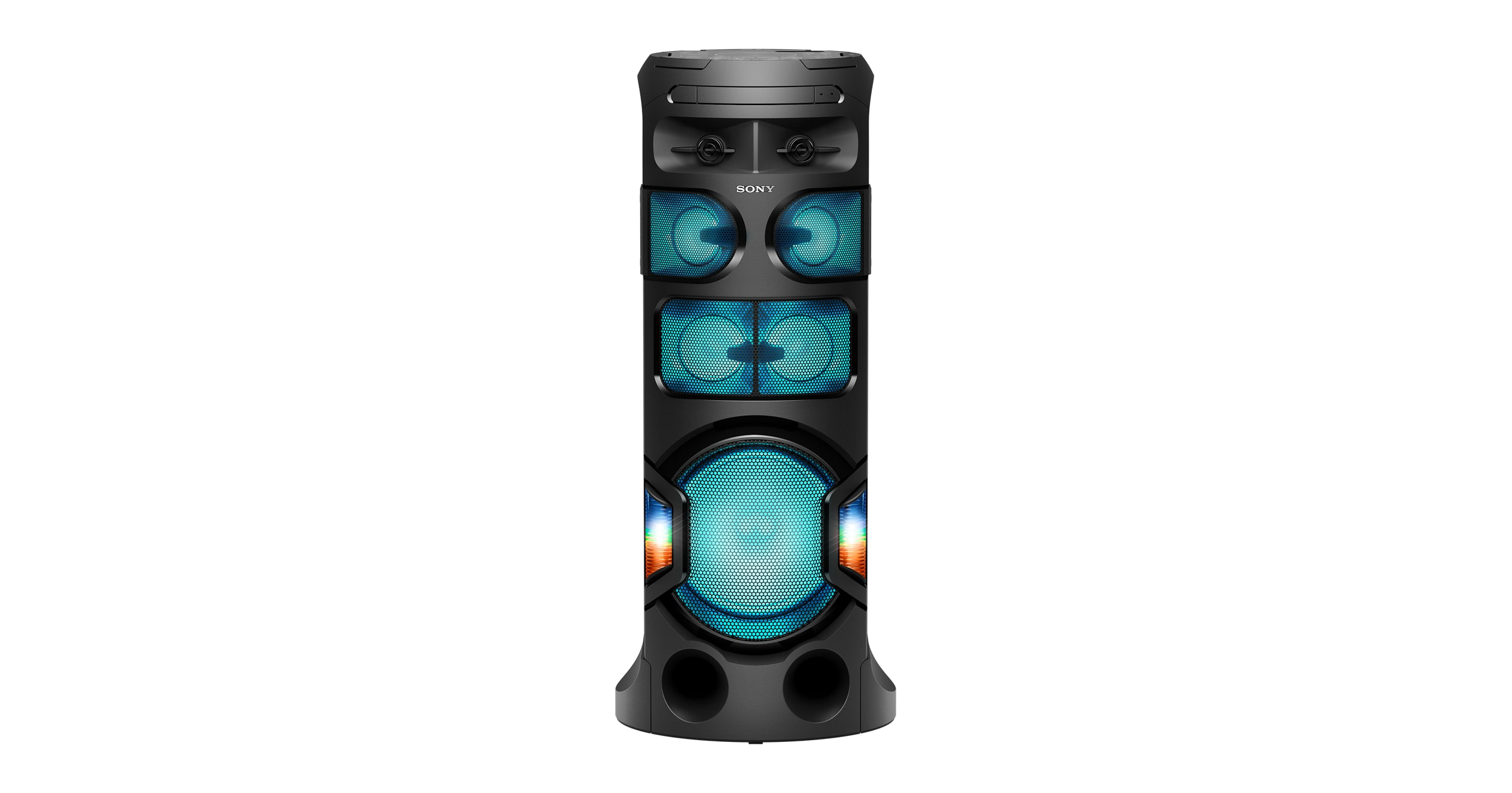 House Party Bluetooth Speaker With Lights 360 Live Sound Sony In Electronics Gt Tv Video Home Audio Speakers Subwoofers