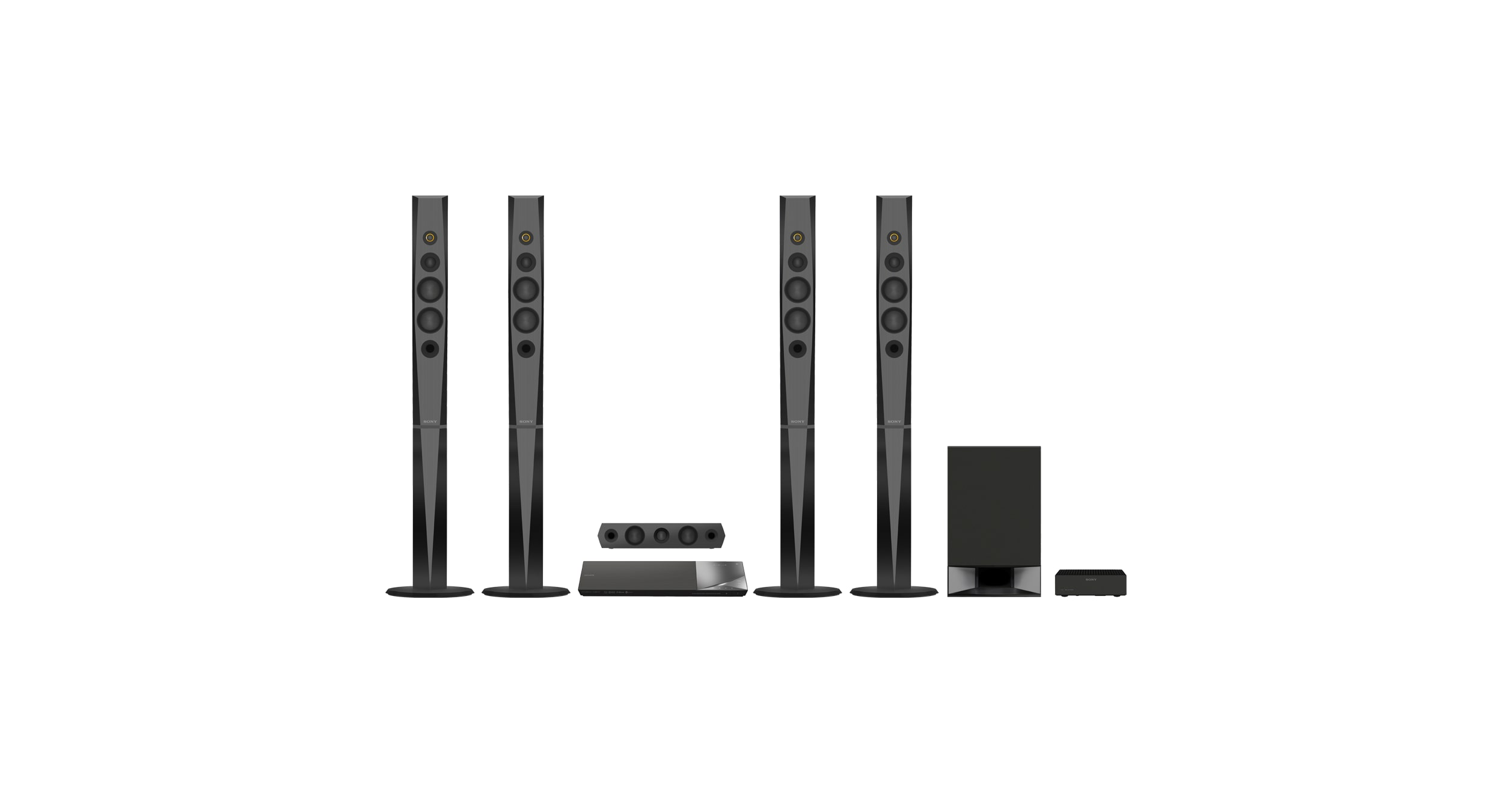 Sony Blu-ray Home Theatre System with Bluetooth®