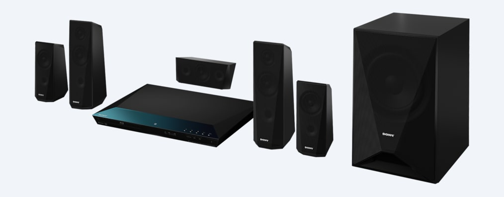 Images of Blu-ray Home Theatre System with Bluetooth®