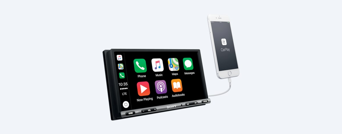 Sony 17 6 cm (6 95) Apple CarPlay/Android Auto™ Media Receiver