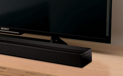 Sony soundbar delivering cinematic surround sound