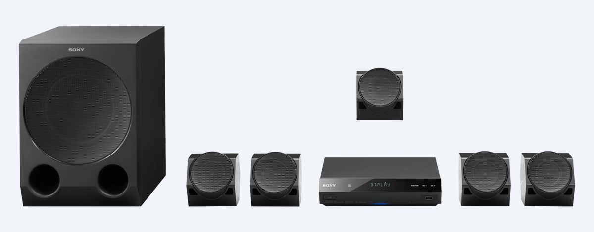 Sony Home Cinema System with BLUETOOTH® Technology