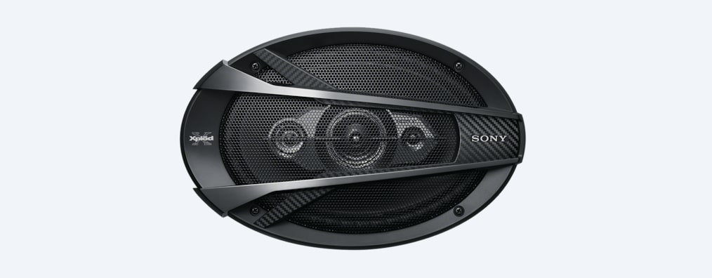 Images of 16 x 24 cm (6.3 x 9.4) 4-Way Coaxial Speaker