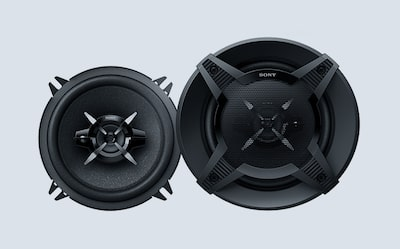 Image of powerful Sony bass-conscious speaker