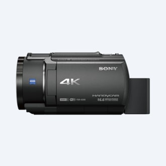 Picture of AX40 4K Handycam® with Exmor R® CMOS sensor