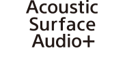 Acoustic Surface Audio+ logo