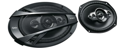 Images of 16 x 24 cm (6.3 x 9.4) 5-Way Coaxial Speaker