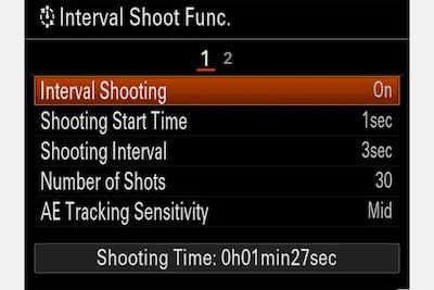 Interval Shooting for time-lapse movies