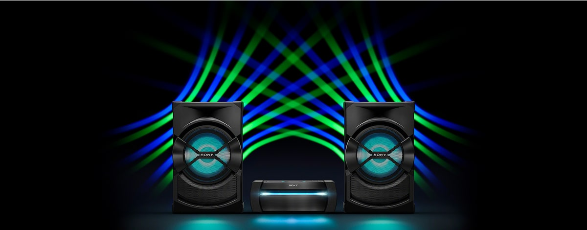 Sony X30D High Power Home Party Speaker with DVD