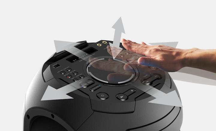 MHC-V42D Gesture Control