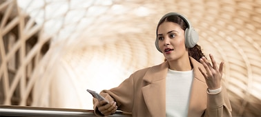 WH-1000XM4 headphones with hands-free calling