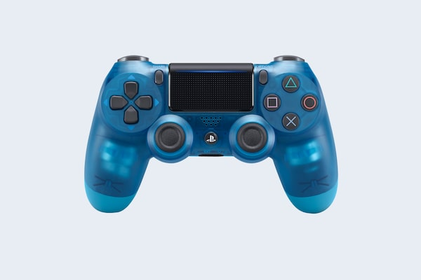 PS4 DUALSHOCK Translucent Blue V2