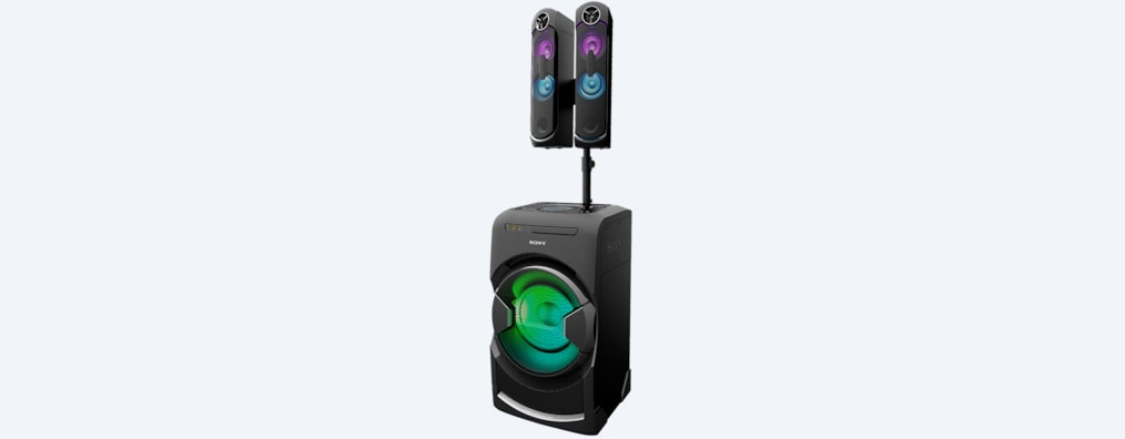 Images of GT4D High-Power Home Party Speaker with BLUETOOTH® Technology