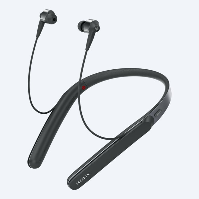 8ee566237763 Picture of WI-1000X Noise Cancelling Headphones with Bluetooth & Neckband