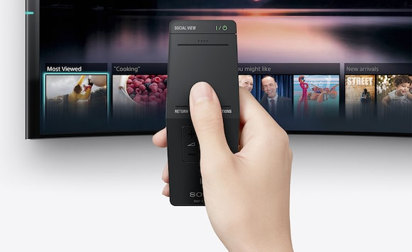 Remote control for 190 to 203 cm (75 to 80) TVs from Sony