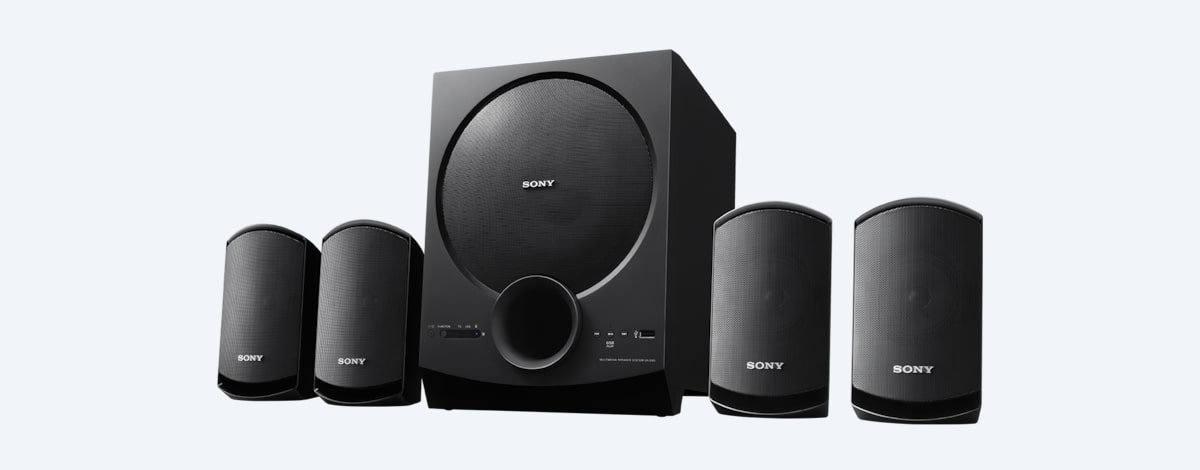 Sony 4 1ch Home Theatre Satellite Speakers