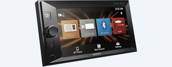 Sony 15 75 cm (6 2) LCD Receiver with Bluetooth®