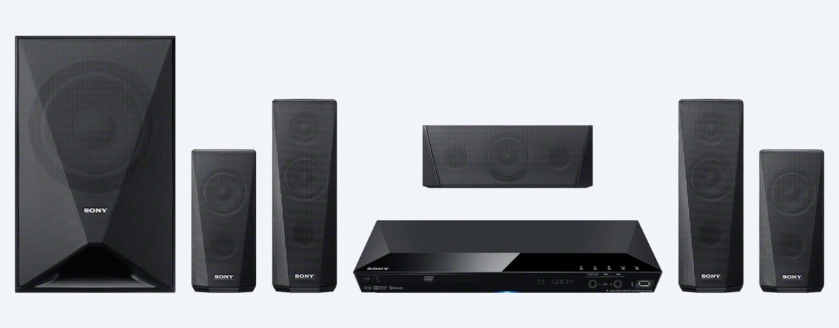 Sony DVD Home Theatre System with Bluetooth®