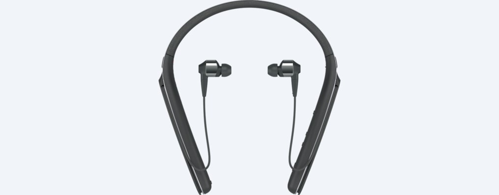 Images of WI-1000X Noise Cancelling Headphones with Bluetooth & Neckband