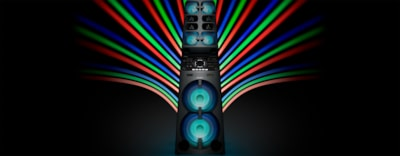 Images of High Power Music System with Party Lights and Karaoke