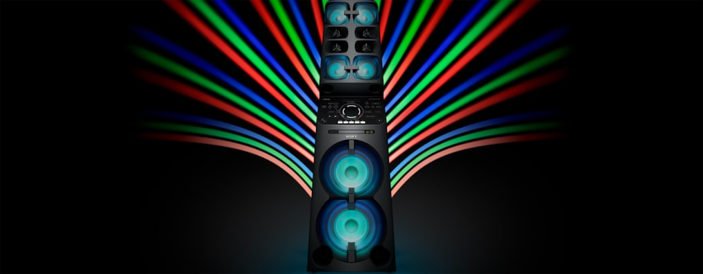 Images of V90DW MUTEKI High Power Party Speaker