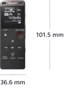 Picture of UX560F Digital Voice Recorder UX Series