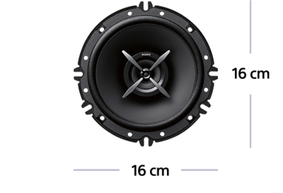 Picture of 16 cm (6.5) 2-Way Coaxial Speakers