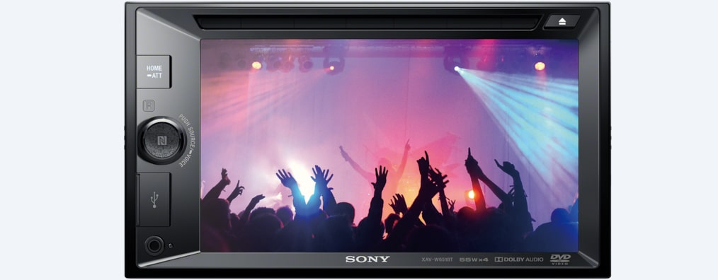 Images of 15.7 cm (6.2) LCD DVD Receiver