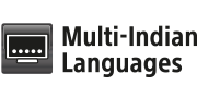 Multi-Indian languages logo