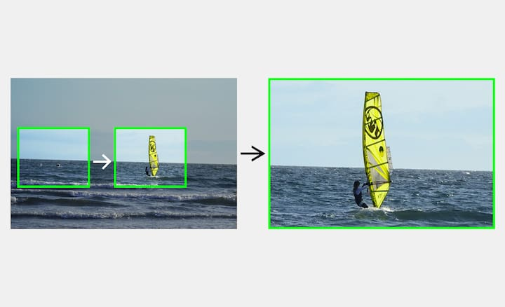 Zoom Assist for easy framing of moving subjects