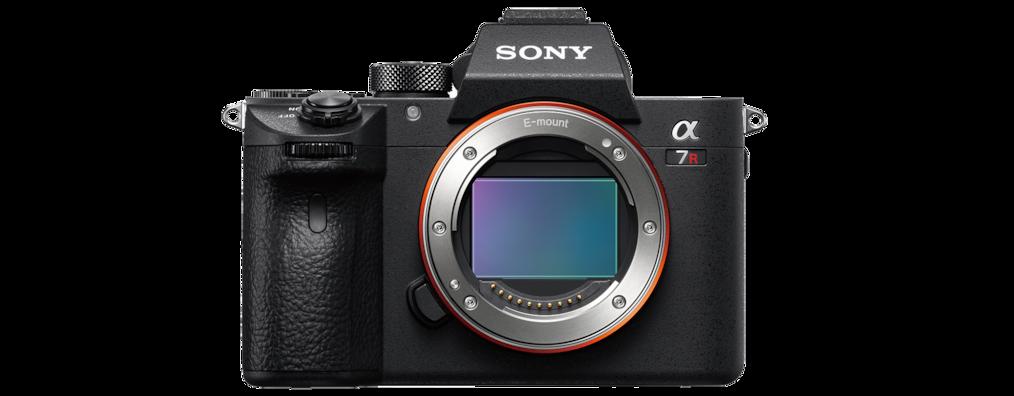 Sony α7R III 35 mm full-frame camera with autofocus