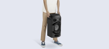 Picture of MHC-V21D High Power Party Speaker with BLUETOOTH® Technology