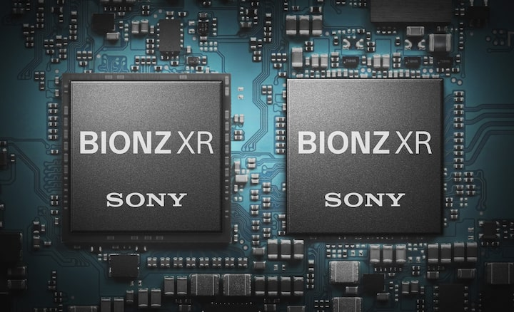 Up to 8x more powerful BIONZ XR