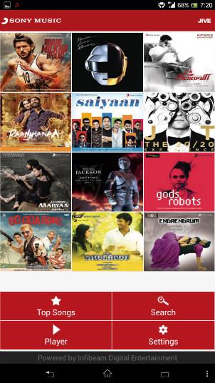 Sony music jive apk